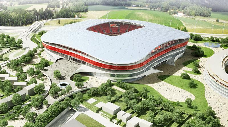 Das Eurostadion in Brüssel