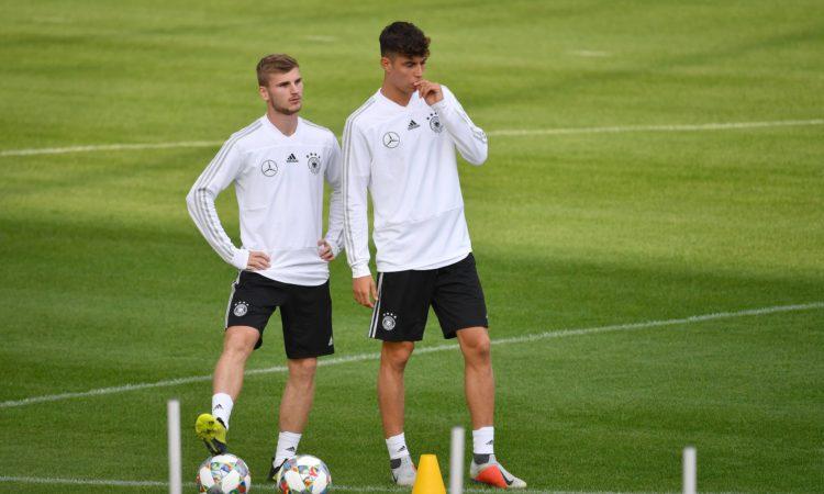 Timo Werner und Kai Havertz